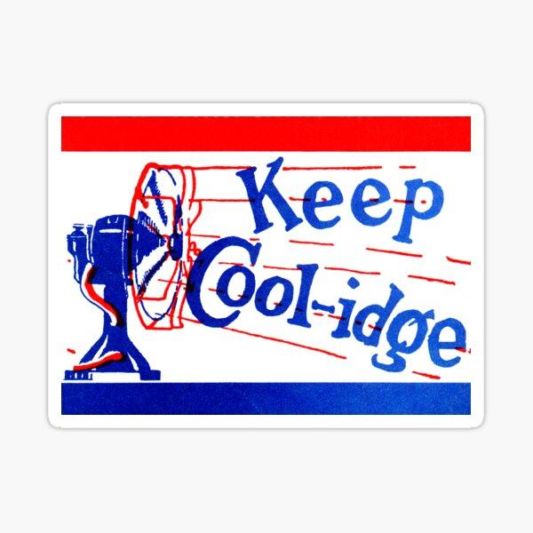 1924 Mantenga Coolidge Pegatina