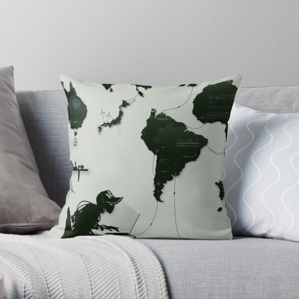 The Nexus Throw Pillow