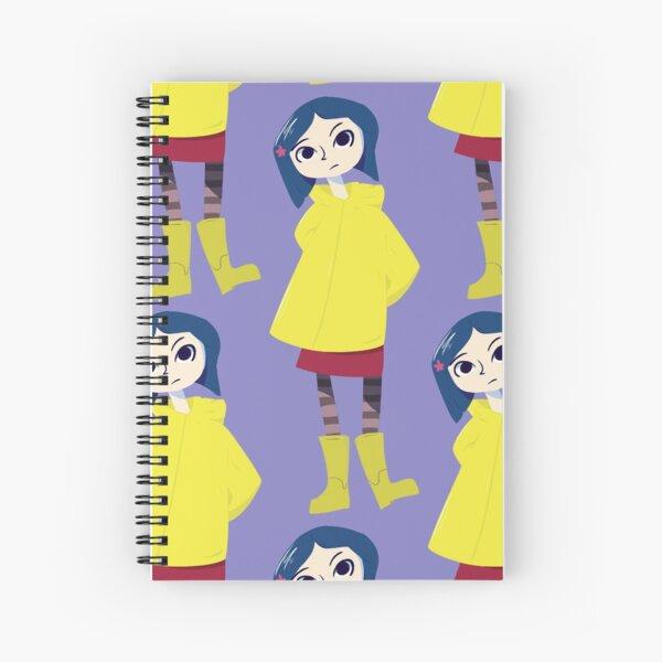 Coraline Fan Art Spiral Notebooks Redbubble