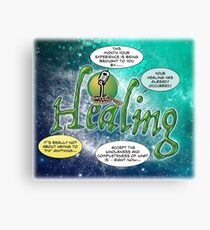 This Month's Sponsor - Healing Canvas Print