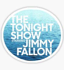 ocean jimmy fallon Sticker