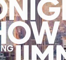 new york jimmy fallon Sticker