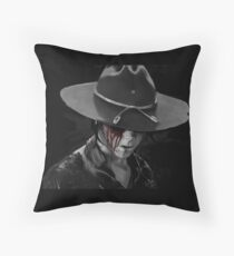 Dad? - The Walking Dead Throw Pillow