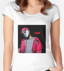 Slump god  Women's Fitted Scoop T-Shirt