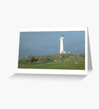 Cape Road Lighthouse Greeting Card