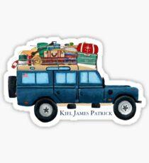 Preppy Car Sticker Sticker