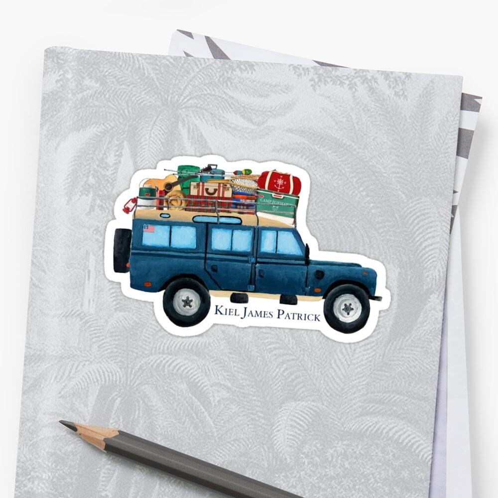 Preppy Car Sticker Stickers By Joshua Hoffman Redbubble