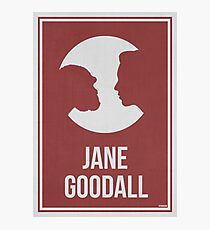 JANE GOODALL - Women in Science Wall Art Photographic Print