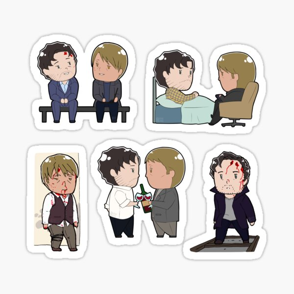 Tiny Hannigram Set 01 Sticker
