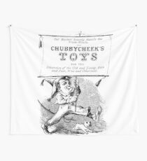Chubbycheek's Toys Wall Tapestry