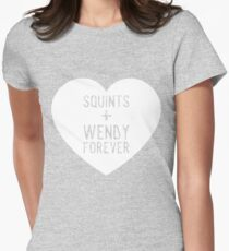 squints+wendy forever  Women's Fitted T-Shirt