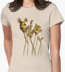 Dali Chocobos Women's Fitted T-Shirt