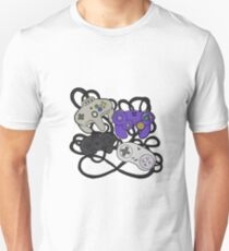 Old School Game Controllers  T-Shirt