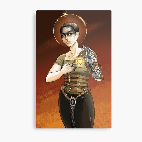 Our Lady of the Desert Wastes Metal Print