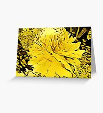 Golden Torch Greeting Card