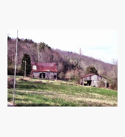 """""""A Countryside View from the Car Window""""... prints and products Photographic Print"""