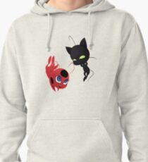Plagg and Tikki Pullover Hoodie