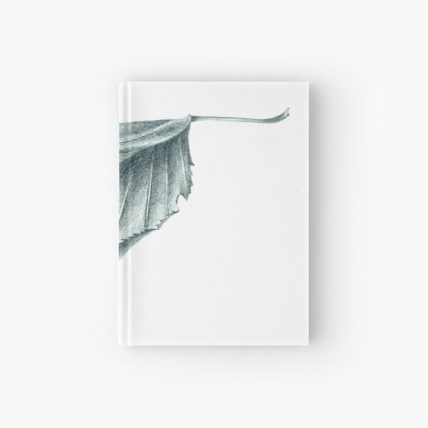 Cherry Leaf Hardcover Journal