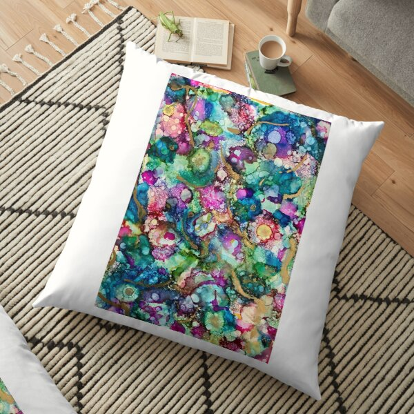 """""""A coral reef"""" Floor Pillow"""
