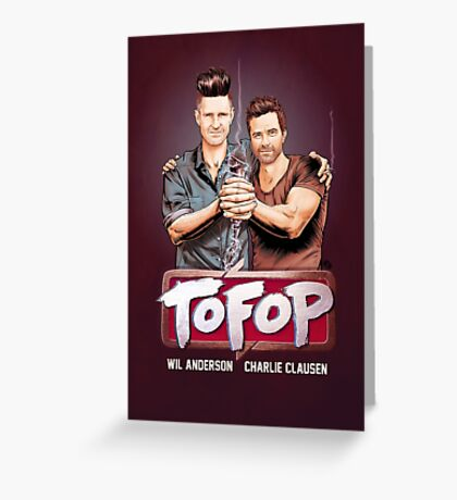 TOFOP- Gritty Rebrand Greeting Card