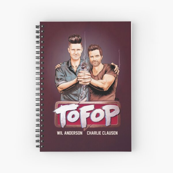 TOFOP- Gritty Rebrand Spiral Notebook