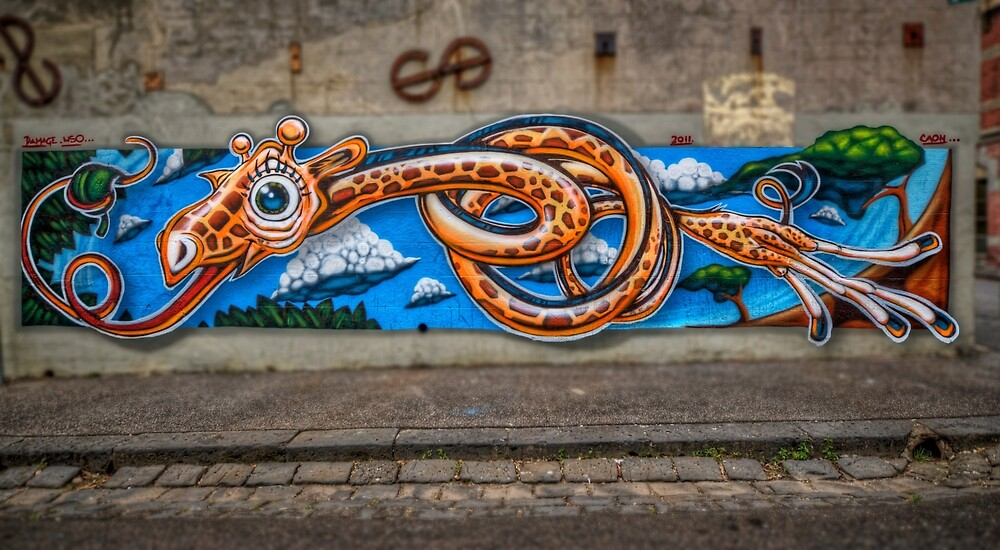 Knotted Neck by Chris Mitchell