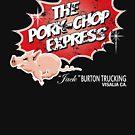 Schweinekotelett Express - Distressed von Candywrap Design