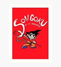 Son Goku vs The Universe Impression artistique