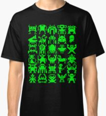 Warp Zone Creatures: Green Classic T-Shirt