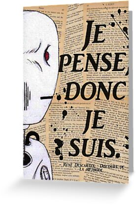 je pense doc je suis Many translated example sentences containing je pense donc je suis – english-french dictionary and search engine for english translations.