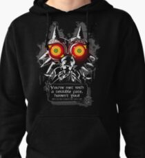 Majoras Mask - Meeting With a Terrible Fate Pullover Hoodie