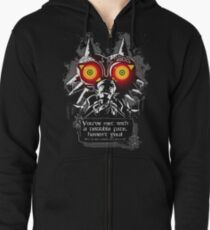 Majoras Mask - Meeting With a Terrible Fate Zipped Hoodie