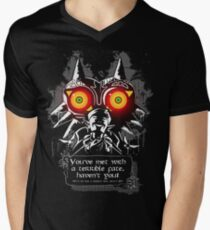 Majoras Mask - Meeting With a Terrible Fate Men's V-Neck T-Shirt