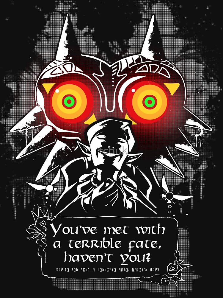 Majoras Mask - Meeting With a Terrible Fate | Unisex T-Shirt