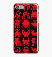 Warp Zone Creatures: Red iPhone Case/Skin