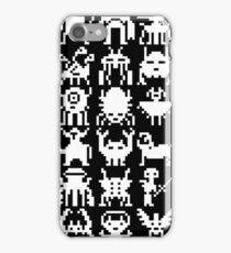 Warp Zone Creatures: White iPhone Case/Skin