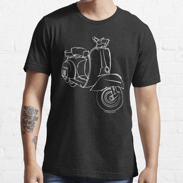 Vespa blanca Essential T-Shirt