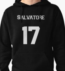 Salvatore— White Pullover Hoodie