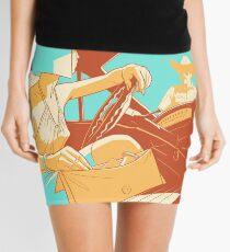 Pull Over Mini Skirt