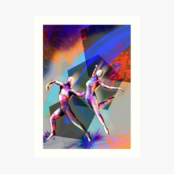 Night Dancers Art Print