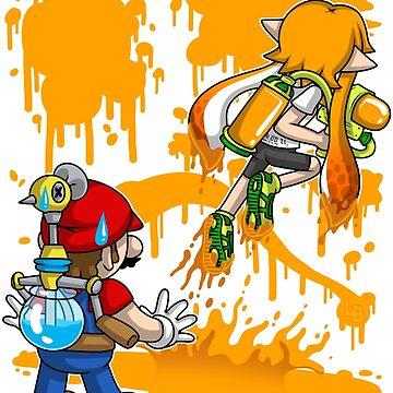 Super Mess - (Orange) by LuAnneB