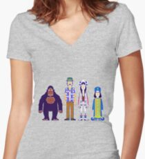 The Mighty Boosh Women's Fitted V-Neck T-Shirt