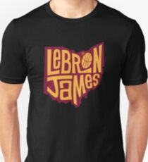 lebron the king james T-Shirt
