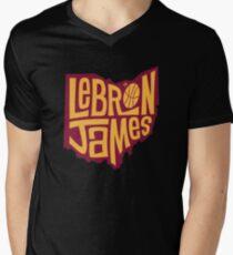 lebron the king james Mens V-Neck T-Shirt
