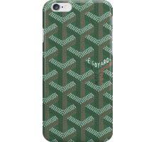Goyard Perfect Case green iPhone Case/Skin