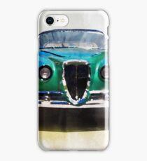 Vintage Supercar Watercolor iPhone Case/Skin
