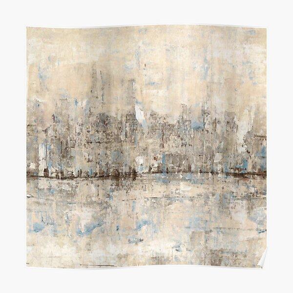 Impressionist Skyline Poster