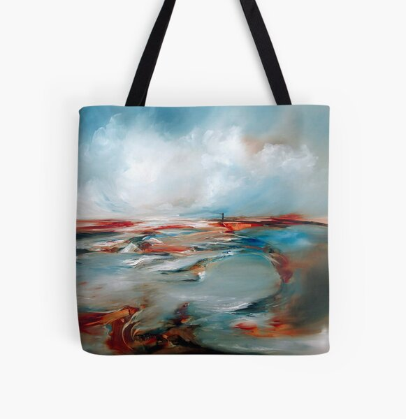 Twisted Light All Over Print Tote Bag