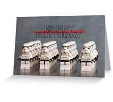 Star Wars themed Birthday Card Greeting Card