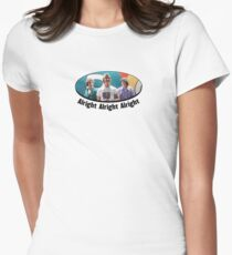 Wooderson (dazed & confused quote) - Alright Alright Alright Women's Fitted T-Shirt